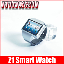 2015 watch phone Z1 Android smart watch phone with 2.0 inches touch screen Suport Wifi GPS GSM