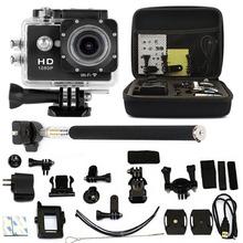 AU 2.0″ WiFi HD 1080P DVR Action CAMERA Sport Waterproof Camera SJ6000-w9 AS GOPRO SJCAM+ Monopod Bag