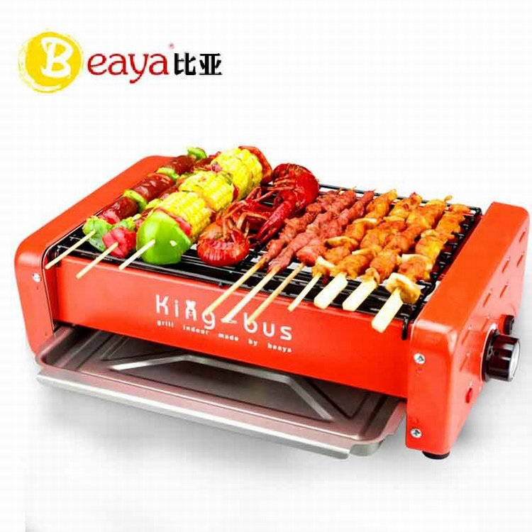 Shakespeare home electric grill electric oven smokeless barbecue grill machine Korean electric grill skewer machine frame(China (Mainland))
