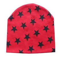 Baby Winter Hat Knit Star Printed Children Hat Newborn Photography Props Caps for Boys Cap Kids Baby Costume Accessories(China)