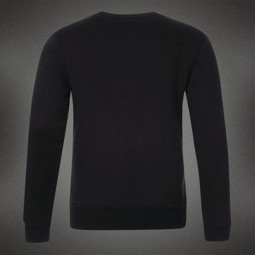 Направление бренда мужчины в DSQ толстовки больше размер XXXL длинный рукав с круглым вырезом кофты черный надписи 112