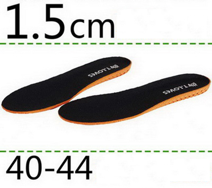 2016 Summer New Stealth Men and Women Insoles Sports Air Insoles Increased 1.5CM and 2.5CM