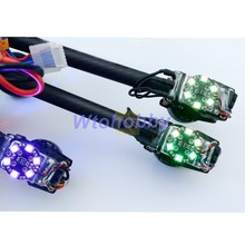 Matek RGB5050 8-LED Circle Tail Light Board Set Quadcopter RGB LED System 7 Color Options for RC Plane(China (Mainland))