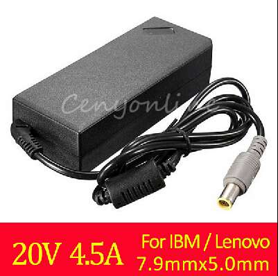 New Arrival AC Adapter 20V 4.5A 90W 7.9x5.0mm Power Supply Battery Charger for IBM For Lenovo for Thinkpad X61 T61 R61 92P 40Y(China (Mainland))