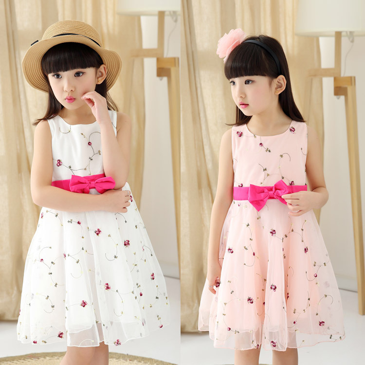 Girls Clothes 7-14 Designer vestidos mujer baby wear girls