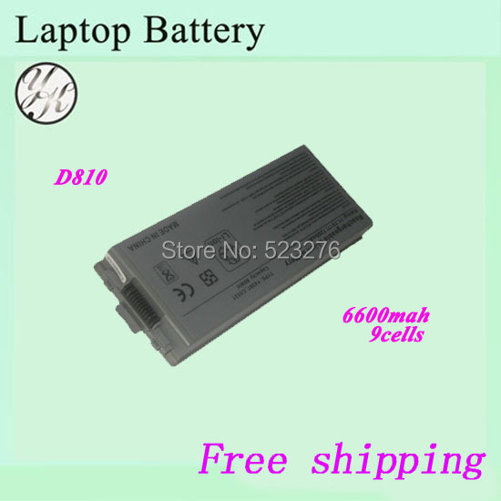 100% New Replacement 310-5351 312-0279 C5331 For DELL Latitude D810 Laptop Battery(China (Mainland))
