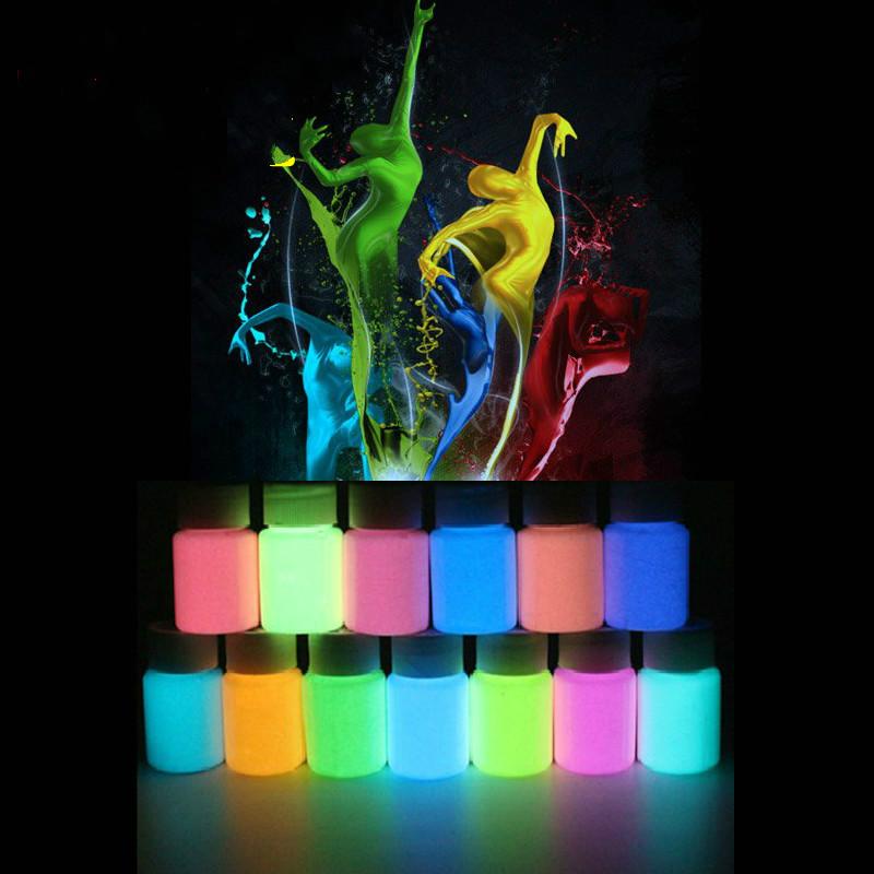 Super bright luminous paint DIY Milky Way water art pigment fluorescent powder liquid
