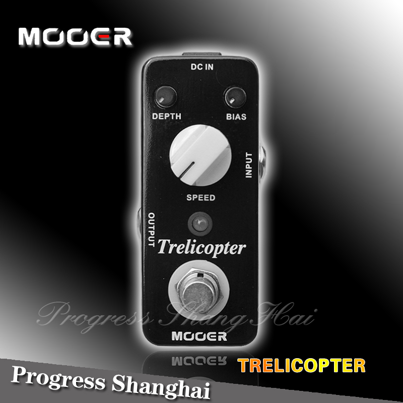 Guitar Effect Pedal / MOOER Trelicopter Classic optical /Full metal shell True bypass<br><br>Aliexpress