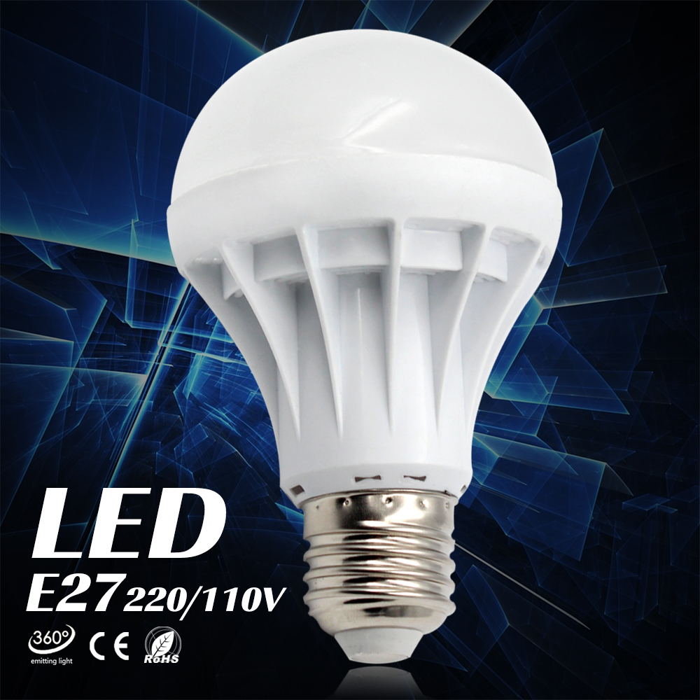 Lampada LED E27 Light Bulb SMD5730 3W 5W 7W 9W 10W 12W 15W luz LED Lamp 220V Cold/Warm White Led ...
