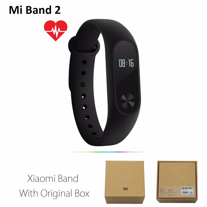 image for Original Xiaomi Mi Band 2 Heart Rate Smart Wristband Activity Fitness
