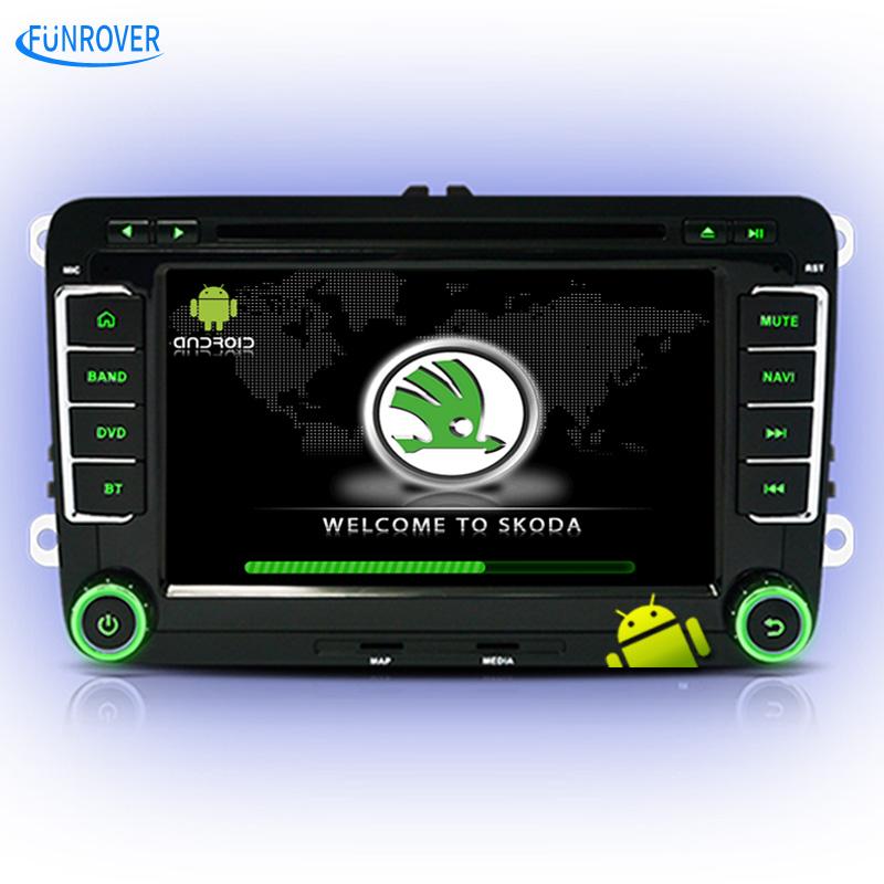 FREE SHIPPING quad core android car dvd player for Skoda octavia fabia rapid superb yeti car gps navigation multimedia iso plug(China (Mainland))