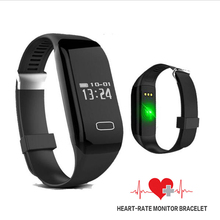 Smart Band Bracelet Heart Rate Monitor Activity Fitness Tracker Wristband Smart watch for iPhone Galaxy S6 S7