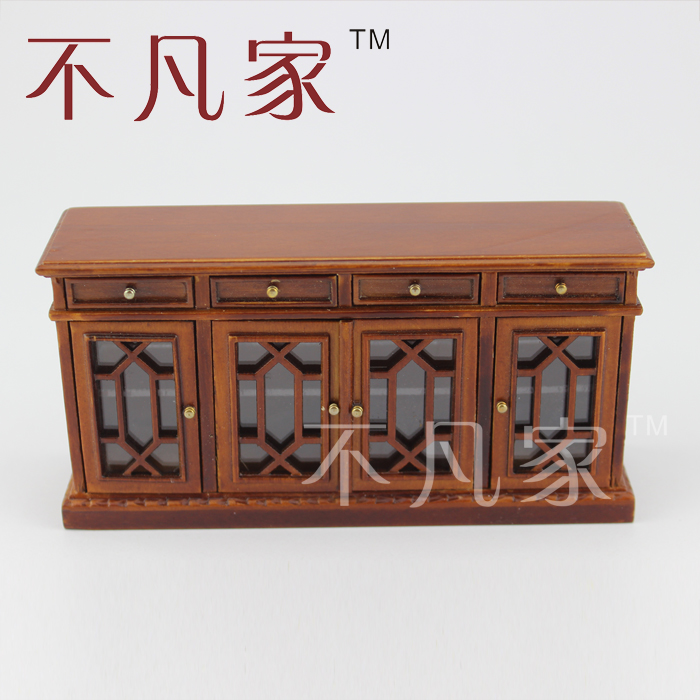 Dollhouse miniature furniture fine craft restaurant Scale model furniture