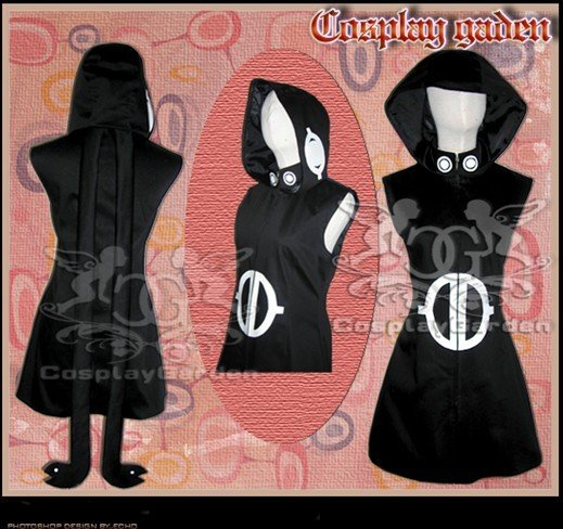 Free Shipping Cosplay Costume Soul Eater Medusa New in Stock Retail / Wholesale Halloween Christmas Party Uniform(China (Mainland))