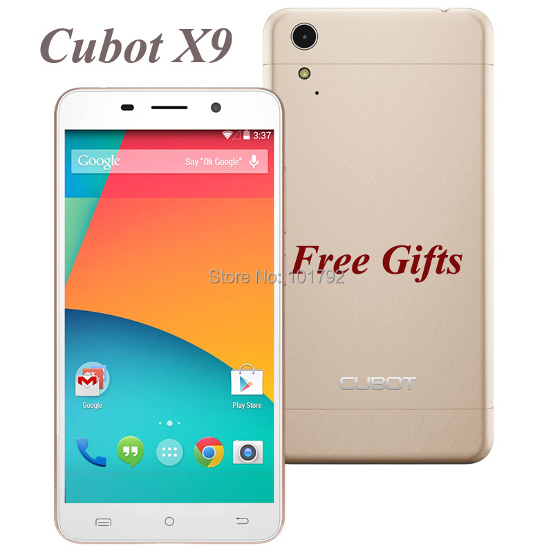 "Original Cubot X9 Unlocked Cell Phone 5.0"" IPS MTK6592 Octa Core 2GB+16GB ROM Android 4.4 3G 13.0MP Dual SIm Smartphone+6GIFTS(China (Mainland))"