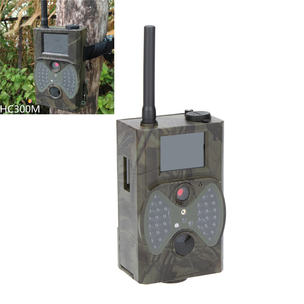 Фотокамера для охоты Hunting Cameras 940 HC300M HD GPRS MMS GSM 2pcs lot sim900a gsm gprs module base station positioning mms version dual tone multi frequency