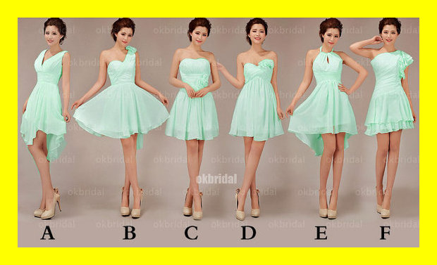 Bridesmaid Dresses Different Styles Same Colour ...