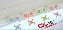 CX10 2.4Ghz 4ch mini rc quadcopter drone