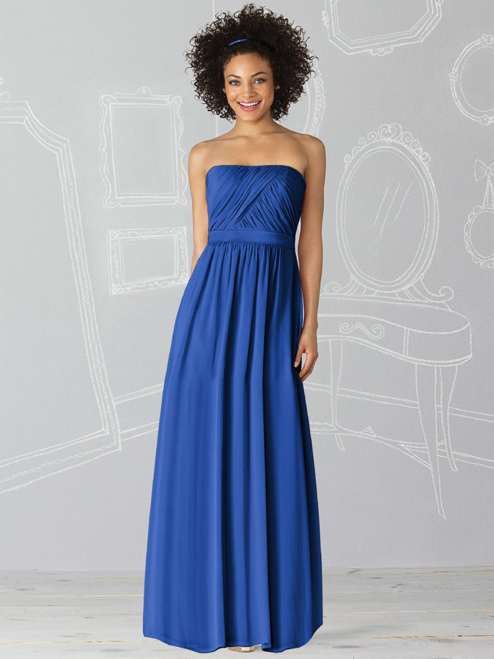 Bridesmaid dresses long chiffon wedding guest dresses for Cheap wedding guest dresses