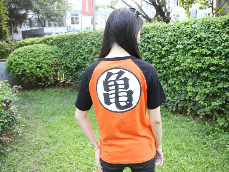 New Anime Dragonball Z Son Goku Cosplay Summer Short Sleeve T-shirt 100% Cotton Tops Tee Shirts Halloween Costume M-XXL  HTB1x0DzHFXXXXXzXXXXq6xXFXXXy