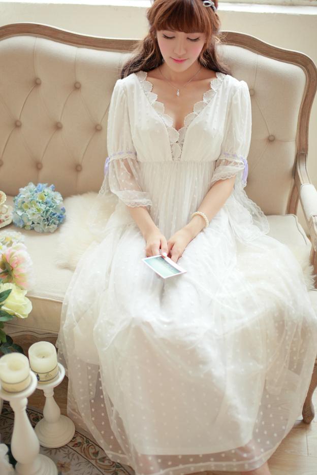 Long Sleepwear Gowns - Sqqps.com