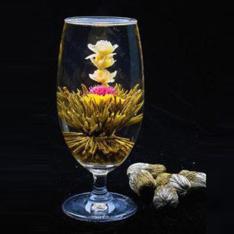 10pcs different Blooming Flower tea blooming flower tea artistic 100 Natural Chinese health care Artistic Blossom
