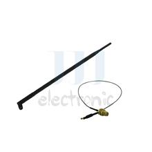 1 9dBi 2.4GHz 5GHz RP-SMA WiFi Antenna + 1 U.fl for Mod Belkin F7D8301 for Netgear N600(China (Mainland))