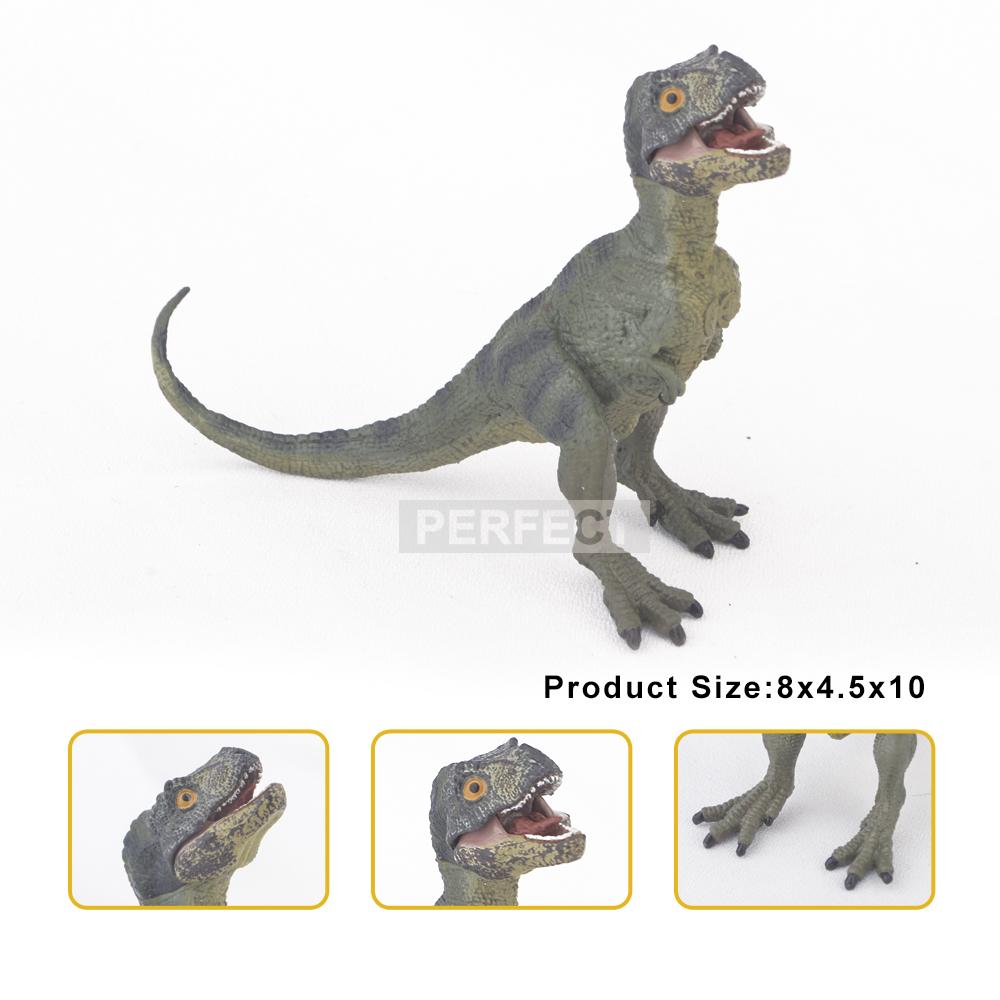 Prehistoric Dinosaurs Jurassic Park Carnivorous Tyrannosaurus Rex Allosaurus Model Toy PVC Dinosaur Action Figure For Collection