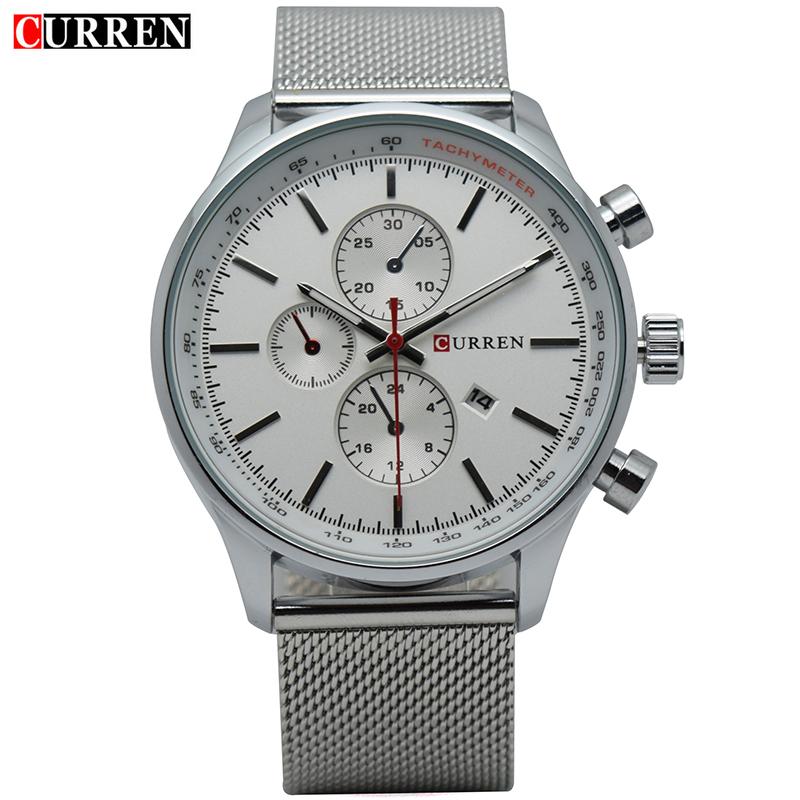 montre homme curren mens luxury watches top brand fashion