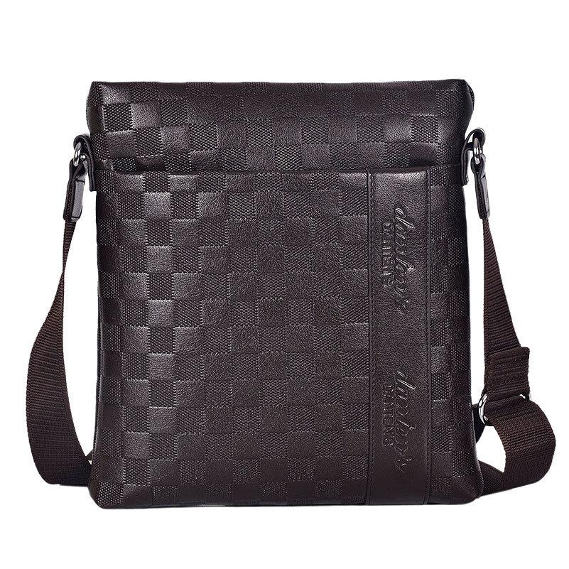 Men's Messenger Bag Printing Imitation leather shoulder bag Business casual bag IPAD package(China (Mainland))
