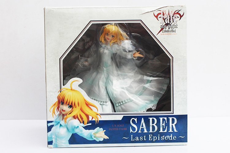 Sizzling Wing Destiny Keep Evening Saber Final Episode Destiny/Keep Evening PVC Motion Determine With Field