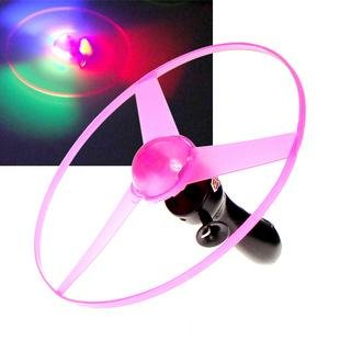 Flash Flying Disk Electric UFO Toys Flying Saucer 10pcs/lot Free Shipping(China (Mainland))
