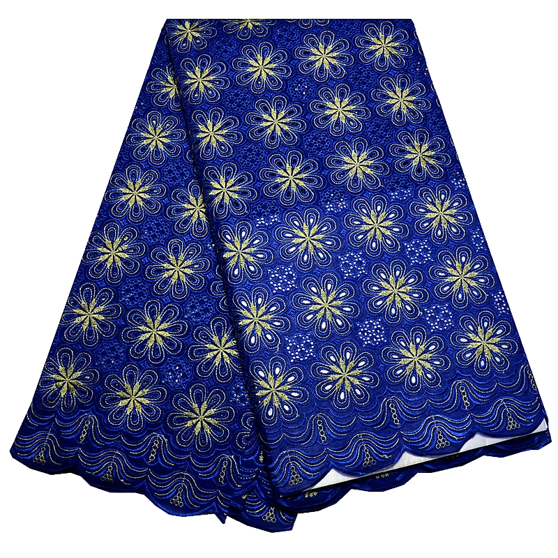 Free shipping! 5 yards 2016 new arrival high quality african swiss voile lace fabric 5yards(China (Mainland))