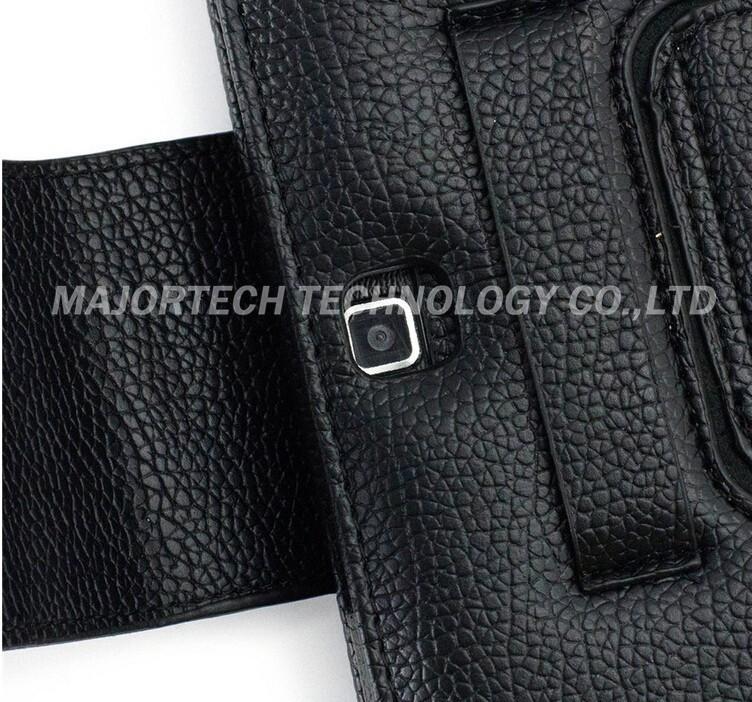 For Samsung Galaxy Tab 4 10.1 T530 T531 Bluetooth Silicon Wireless Keyboard Teclado Stand Tab4 PU Case Cover Black Free Shipping