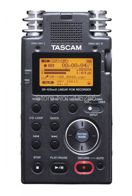 Tascam dr-100mkii portable digital recorder original recording pen professional high definition free shipping(China (Mainland))