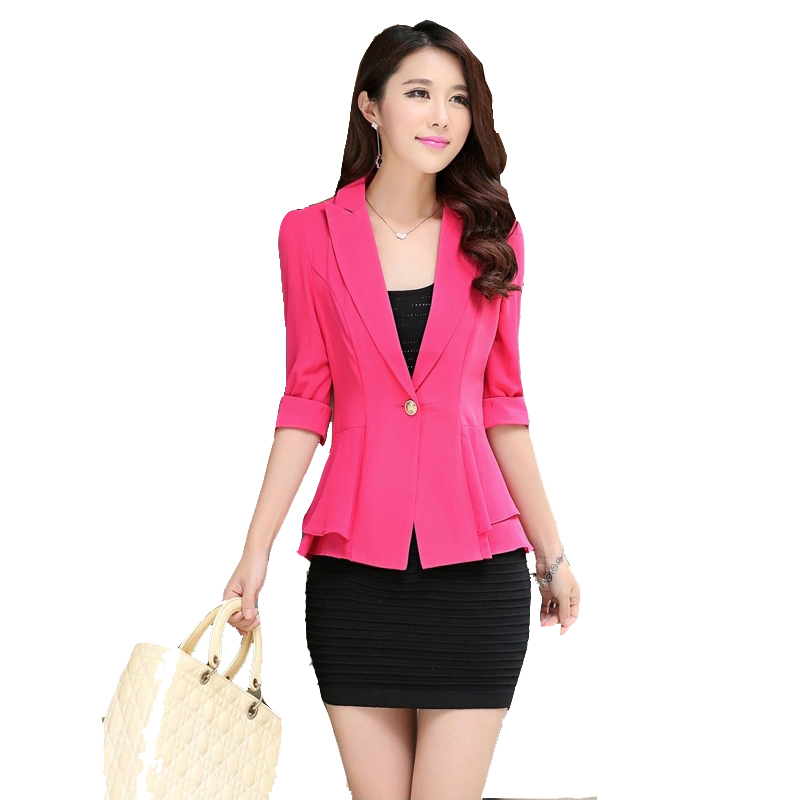 Popular Women Suit Jacket Styles-Buy Cheap Women Suit Jacket ...