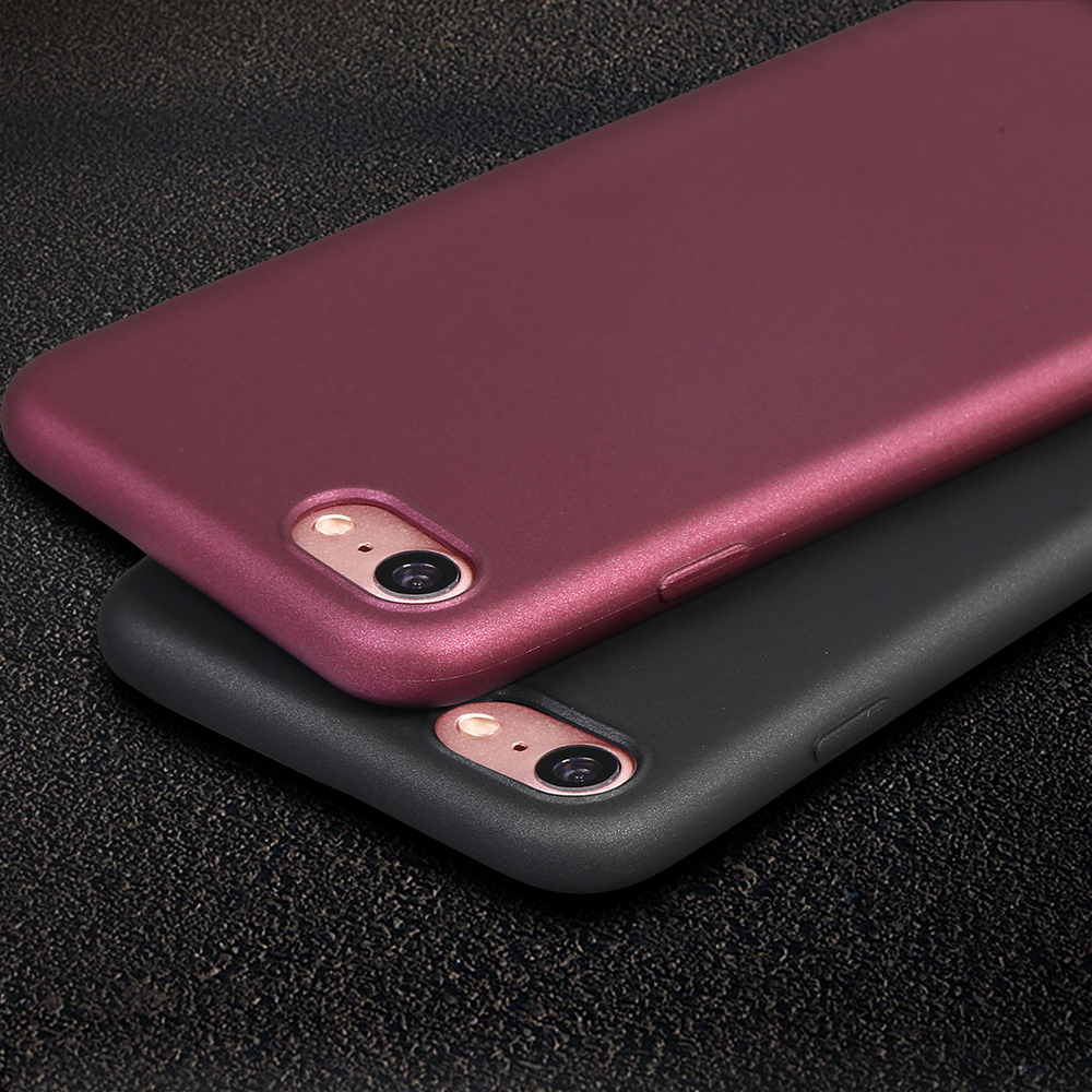 X-Level TPU Soft Case For iPhone 5 5s SE 6 6s 7 6 plus 6s plus 7 plus Luxury Back Cover Case(China (Mainland))