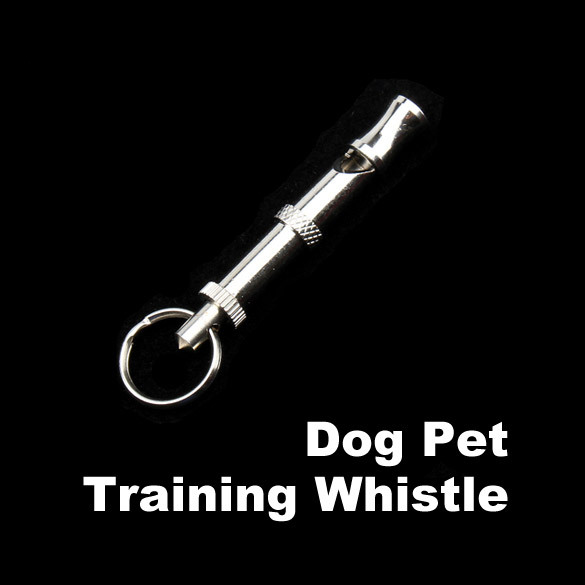 Adjustable Pet Dog Animal Training Supersonic UltraSonic Obedience Sound Whistle E5M1(China (Mainland))