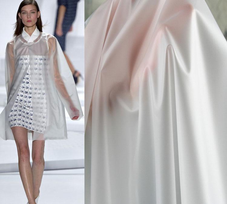 matte TPU Fabric Transparent Rain Coat Material WaterProof materials(China (Mainland))