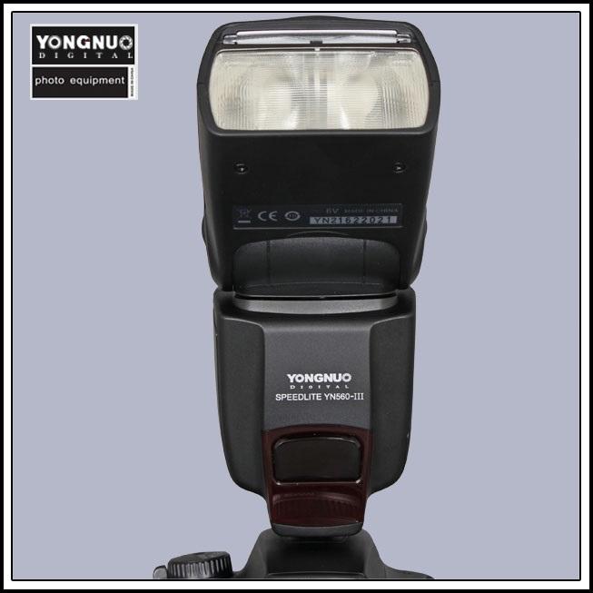 Вспышка для фотокамеры YN560III Canon 550D 50D 60D 5D Nikon D90 D3100 макрокольца для nikon d3100 в иваново