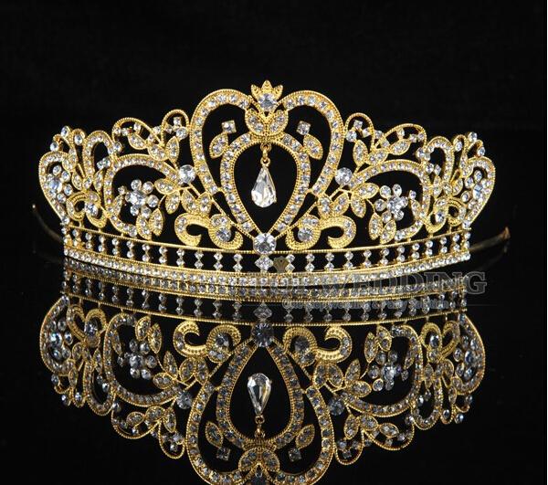 تيجان ملكية  امبراطورية فاخرة 2015-New-fashioin-Trendy-crystal-Princess-crown-zinc-alloy-bridal-tiaras-crystal-diadem-for-bride-hair