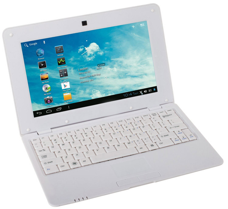 "10 inch Dual core Andrion 4.2 Mini Netbook VIA 8880 with HDMI Slot RJ45 10"" Mini laptop(China (Mainland))"