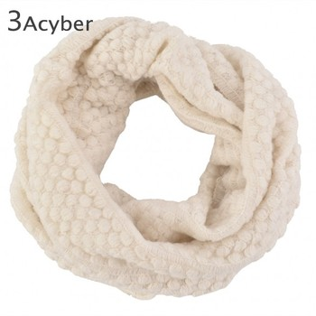 New Fashion Women's Corn kernels Shawl Knitted Wool Neck Cowl Wrap Scarf Warmer Circle 29