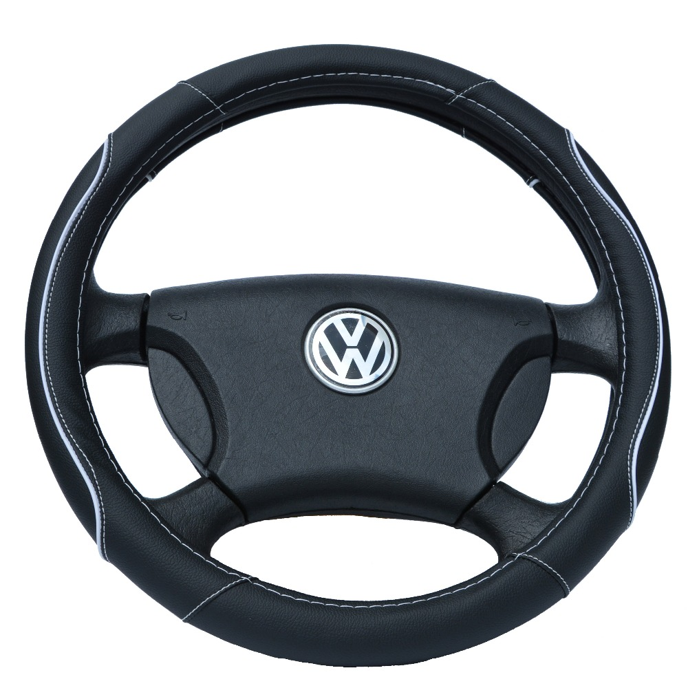 Hot Sale Car Leather Steering Wheel Covers Fit 95 Car