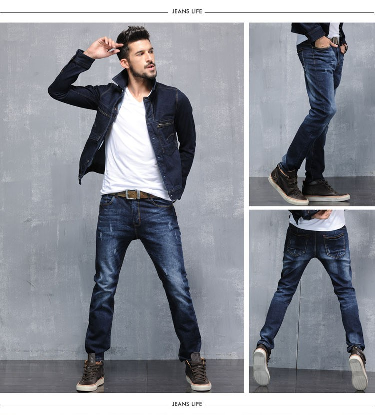 2016 new  Designer Jeans Men denim pants long trousers,men jeans summer  trousers top denim jeans stonewashing  Size 28-38