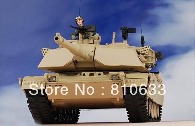 free shipping military model kits America abrams M1A1 tank models(China (Mainland))