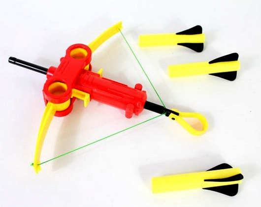 Plastic Children Shooter Three Rounds EVA Bow and Arrow Soft Air Gun Archery Toys Safe Crossbow Airsoft Army(China (Mainland))