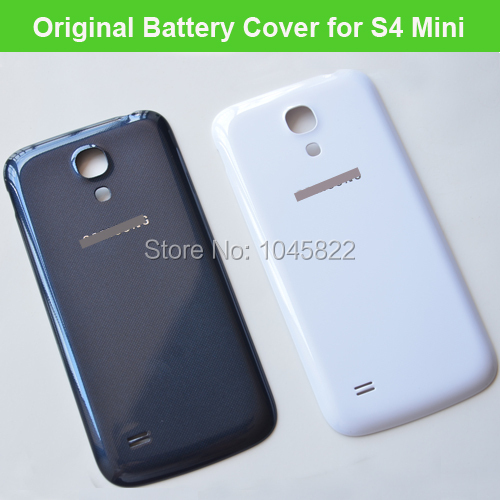 Original OEM Replacement S4 MINI Back Cover Battery Door Housing Case for Samsung S4 mini i9190 i9195 BLACK WHITE Free shiping(China (Mainland))