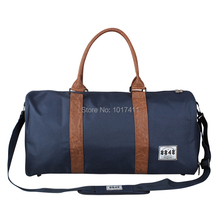 8848 Classical Unisex Duffel Bag Men Sport Bags Cylindrical Canvas Bag Black Military Tactical Shoulder Bag Travel Luggage D004(China (Mainland))