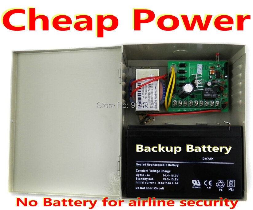Free Shipping Door SecurityController system Power Supply Access controller (Order is No Backup Li-battery for airlines security(China (Mainland))